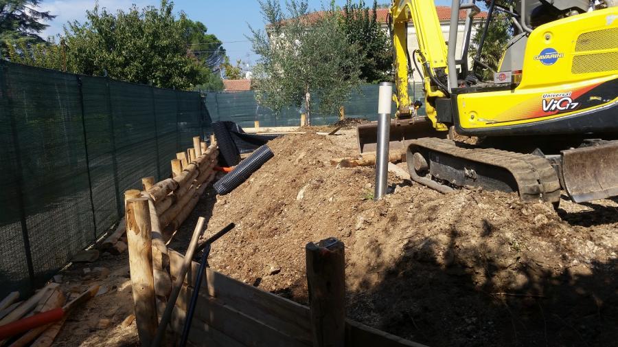 Creazione giardino terrazzato - Simone Romani arboricolture ...