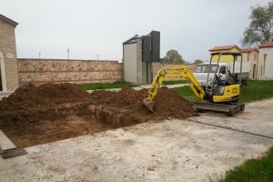 Excavation for structure
